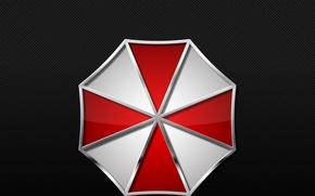 Wallpaper Umbrella Corp., film, Biohazard, book, Resident Evil, logo, texture, evil, Umbrella Corporarion, Our Business is ...