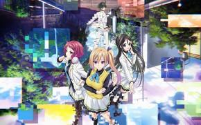 Picture anime, japanese, bishojo, seifuku, Musaigen no Phantom World, Mai Kawakami, Myriad Colors Phantom World