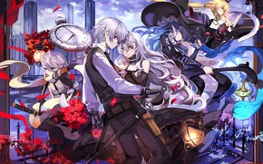 Picture anime, art, pair, characters, Pixiv Fantasia