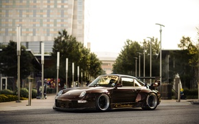 Picture 911, Porsche, Karera, Porsche, Carrera, 1993, 993, RWB, Rough, World, Term
