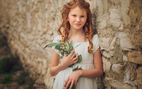 Picture girl, the beauty, curls, redhead, curls, Edie Layland