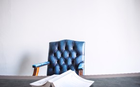Picture table, sofa, chair, newspaper, journal, chair, sofa, table, newspaper, Journal