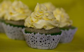 Picture cream, Cupcakes, Cream