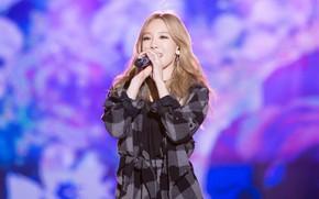 Picture k-pop, Taeyeon, blond hair, Kpop. Singer