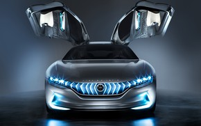 Picture door, front view, Hybrid, 2018, Pininfarina, Kinetic GT