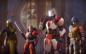 Picture gun, game, armor, weapon, rifle, suit, Destiny, Destiny 2