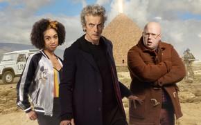 Picture pyramid, actors, Doctor Who, Doctor Who, Peter Capaldi, The Twelfth Doctor, Twelfth Doctor, Matt Lucas, …