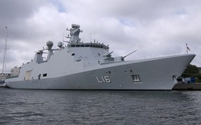 Picture frigate, Denmark, Navy, type absalon