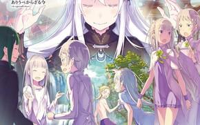 Picture anime, art, characters, From scratch, Re: Zero Kara Hajime Chip Isek Or Seikatsu
