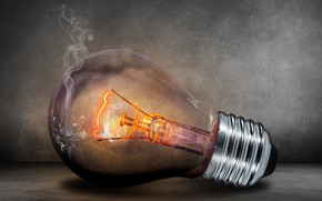 Picture infrared, light bulb, incandescent