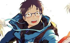 Picture anime, art, guy, Yuri on Ice, Yuri on the ice, Yuri Katsuki