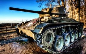 Wallpaper tank, M24, weapons
