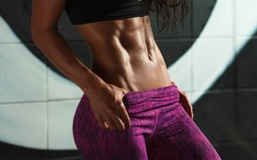 Picture pose, fitness, abs