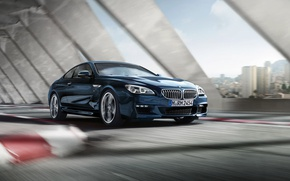 Picture blue, BMW, 6 series, m package