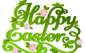 Picture letters, Easter, words
