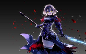Picture look, girl, anime, Fate / Grand Order