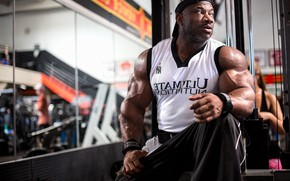 Picture pose, muscle, muscle, athlete, bodybuilder, biceps, bodybuilder, Dexter Jackson, Bodybuilder, Biceps, Dexter Jackson