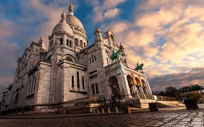 Picture Paris, Ile-de-France, Montmartre, Sacred Heart