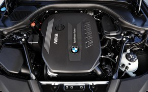 Picture engine, BMW, cover, sedan, xDrive, 530d, Luxury Line, 5, four-door, 2017, 5-series, G30