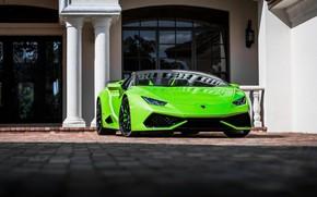 Picture Lamborghini, Green, Italia, VAG, Huracan