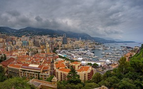 Picture the city, panorama, Monaco