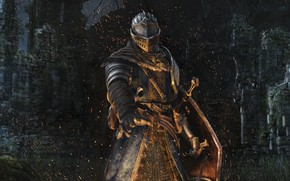 Wallpaper Remastered, Armor, From Software, Dark Souls Remastered, Ruins, Knight, Namco Bandai Games, Dark Souls, Armor