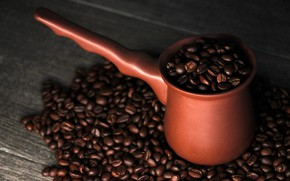 Picture background, mood, background, coffee beans, coffee, Turk, ceramics, the coffee tradition