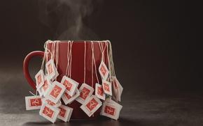 Picture background, tea, mug