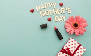 Wallpaper lipstick, Mothers day, box, flower, gift, happy, hear, family, gift, lipstick, holiday, Love