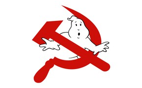Picture Minimalism, Communism, Ghost hunters, Ghost, The hammer and sickle, The Specter Of Communism
