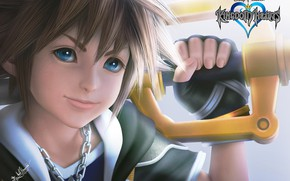 Picture boy, art, disney, sora, kingdom hearts