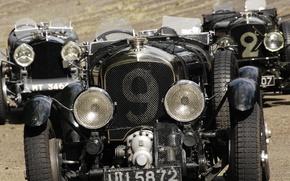 Picture retro, sport, Bentley