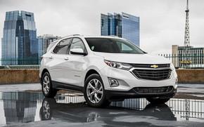 Picture machine, auto, city, the city, street, Chevrolet, Chevrolet, car, 2018, crossover, Chevy Equinox, Chevrolet Equinox