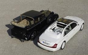 Picture retro, Maybach, Landaulet, 62S