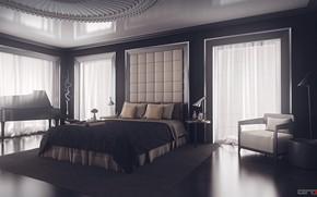 Picture comfort, furniture, the room, furnished, Bedroom design