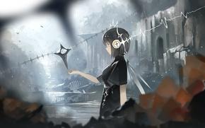 Picture girl, anime, art, yuushouku