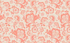 Picture flower, texture, background, pattern, ornament, seamless