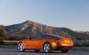 Picture coupe, AstonMartin, stratus