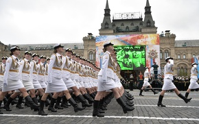 Wallpaper parade, defense, May 9, Russia, University, cadets, red square, victory day, military