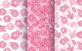 Picture roses, texture, pink, rose, pink, patterns, beautiful