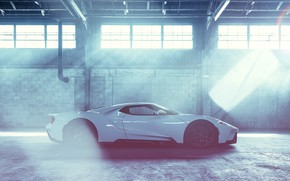 Picture background, Ford GT, sports car