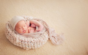 Picture background, sleep, baby, cocoon, baby