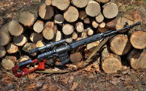 Picture SVD, self-loading, Dragunov sniper rifle
