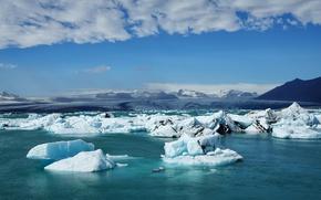 Picture ice, Iceland, Iceland, Auster-Skaftafellssysla, Jökulsárlón