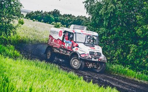 Picture Nature, Sport, Speed, Race, Dirt, Trucks, Squirt, Russia, Rally, Rally, 305, Silk road, Silk Way, …