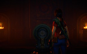 Picture Uncharted, Chloe Frazer, Uncharted: The Lost Legacy, Ancient place