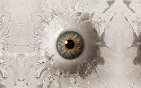 Wallpaper eye, SAW, SAW 1, movie, film, cinema