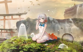 Picture Girl, Landscape, Ghosts