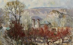Picture Fremont Ellis, picture, Sanctuary, landscape, Fremont Ellis