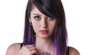 Picture look, model, makeup